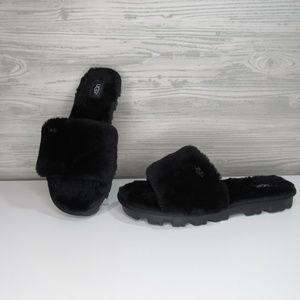 UGG Cozette Women's Slipper Slide Black Sandal NEW